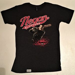 Negan Slugger T-Shirt Walking Dead Small Black
